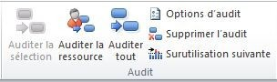 Audit des ressources