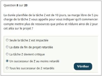 Le questionnaire sur la planification de projet