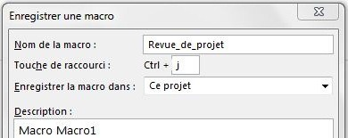 Macro VBA Project