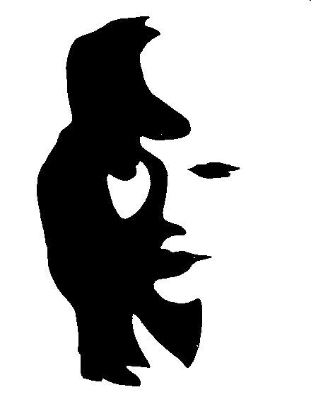 illusion visage clarinettiste