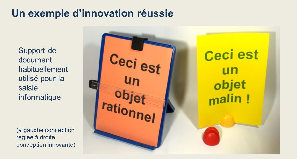 Exemple d'innovation réussie