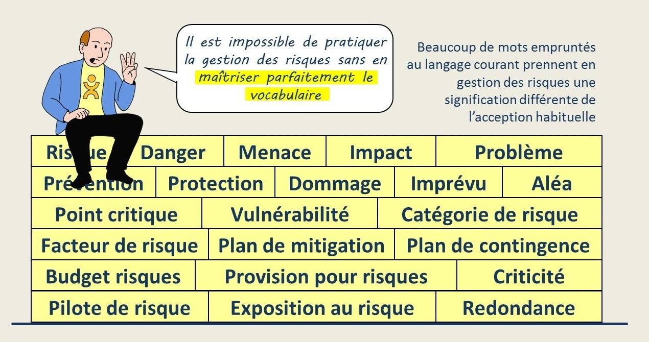 Vocabulaire de la gestion des risques