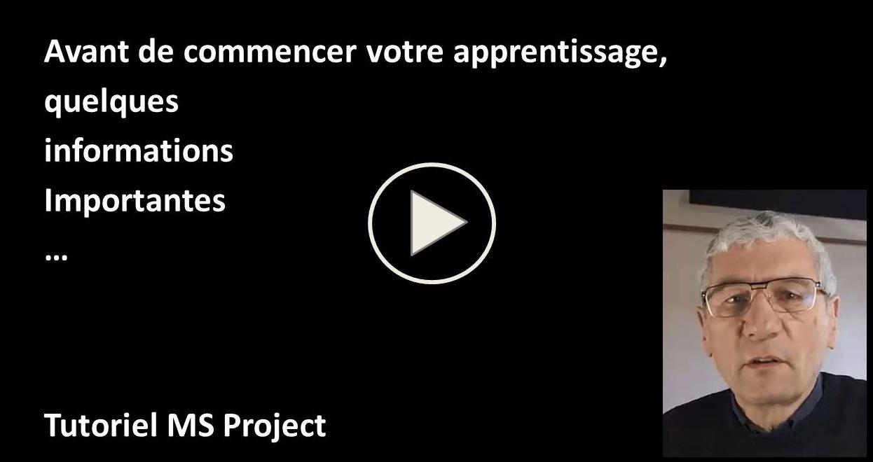 Vidéo de présentation du tutoriel
